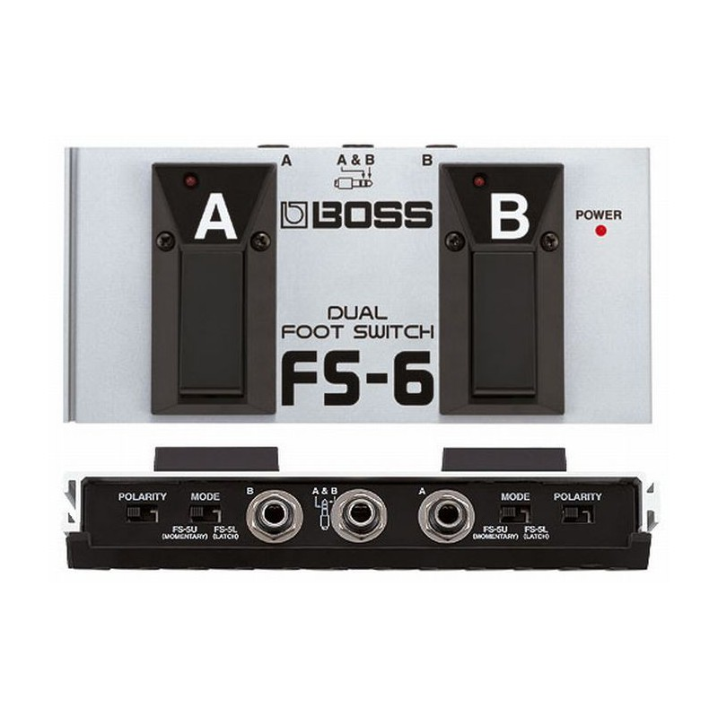 Boss FS-6 - Commutateur Double