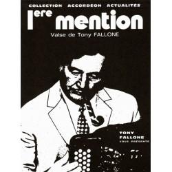 1ere Mention - Valse - T.FALLONE