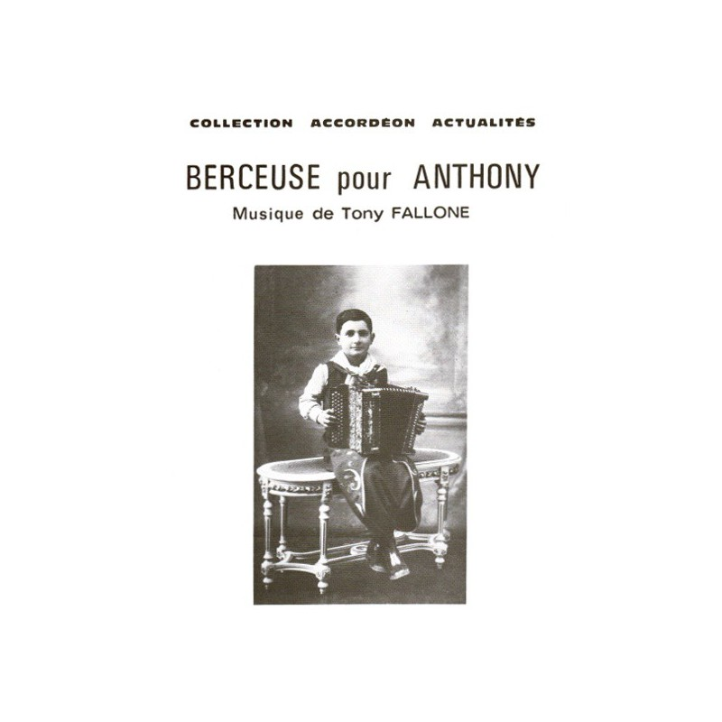 Berceuse pour Anthony - T.FALLONE