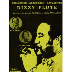 Edition Fallone Dizzy Flute - M.AZZOLA-J.MALLERY - Partition Accordéon