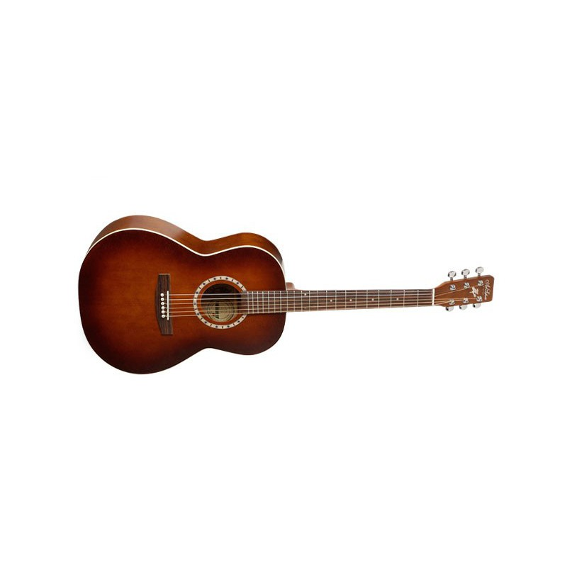 Art et Lutherie Folk Antique Burst Satiné