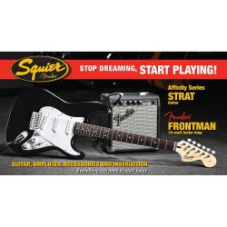 Pack Affinity Strat + Frontman 10G Amp + Accessoires