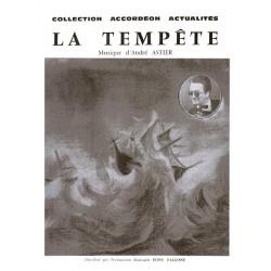 Edition Fallone La Tempête - A.ASTIER - Partition Accordéon