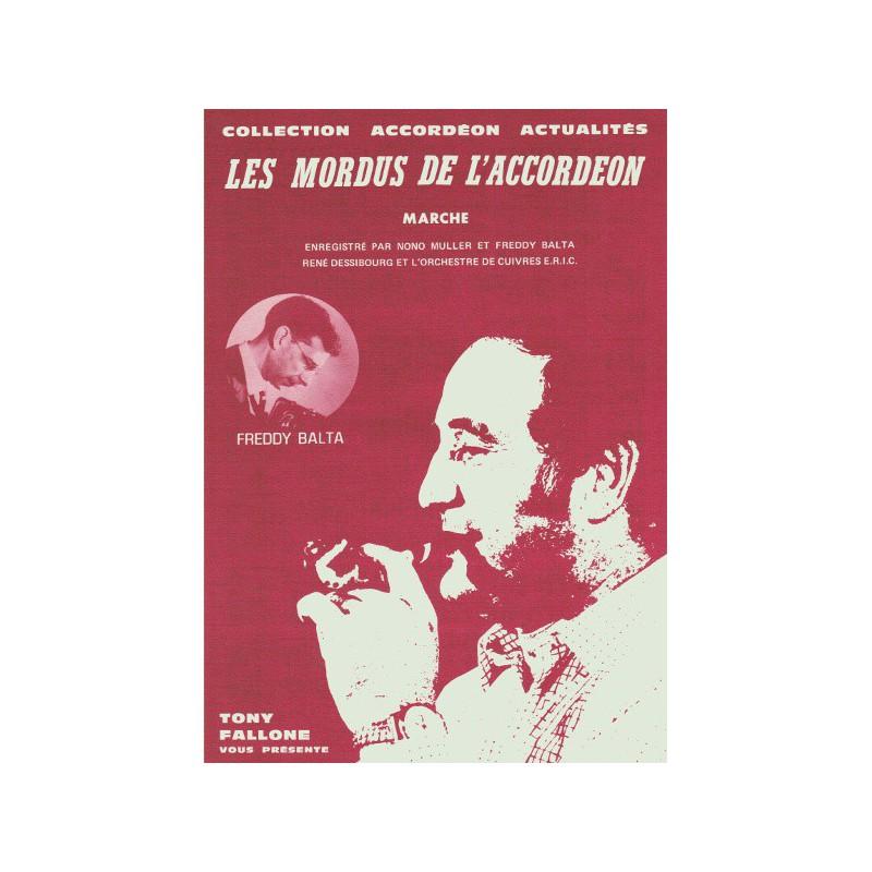 Edition Fallone Les mordus de l'accordéon - F.BALTA - Partition Accordéon