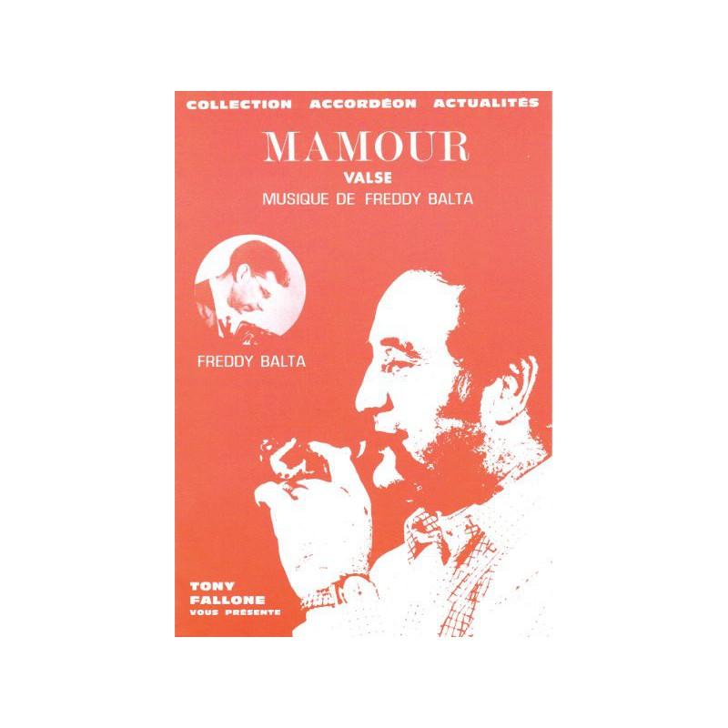 Edition Fallone Mamour - F.BALTA - Partition Accordéon