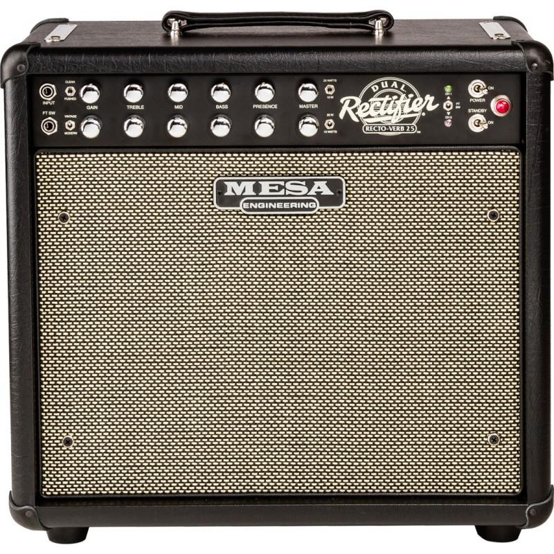 "Mesa Boogie Recto-Verb 25 - Ampli Combo Guitare 1x12"" 10/25 Watts"