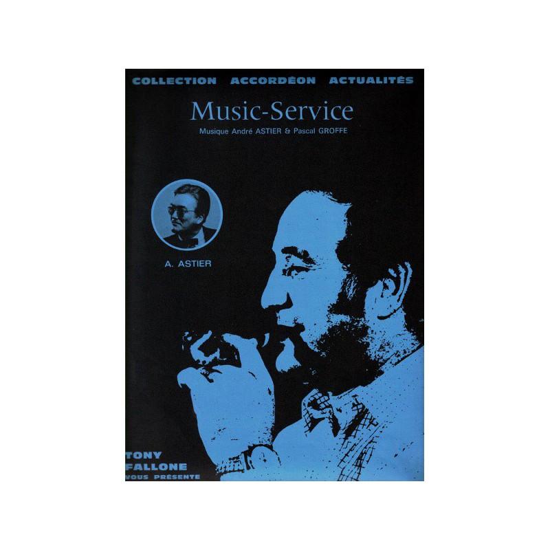 Edition Fallone Music Service - A.ASTIER - P.GROFFE - Partition Accordéon