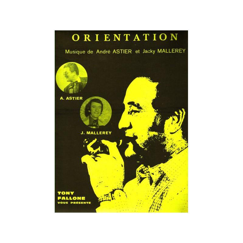 Edition Fallone Orientation - J.MALLAREY-A.ASTIER - Partition Accordéon