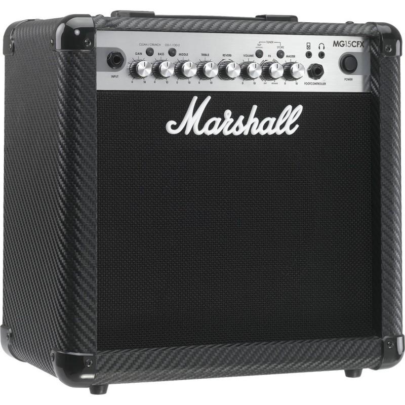 Marshall MG15CFX - Ampli Combo Guitare FX 15 watts