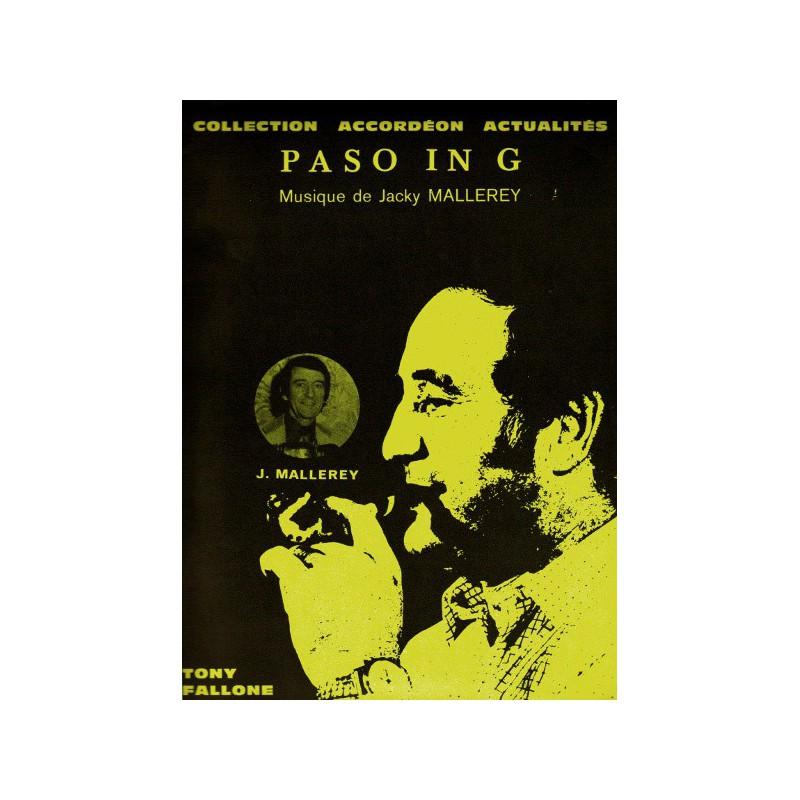 Edition Fallone Paso in G - J.MALLEREY - Partition Accordéon