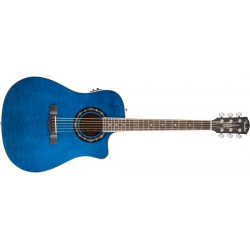 T-Bucket™ 300CE Transparent Blue Quilt Maple