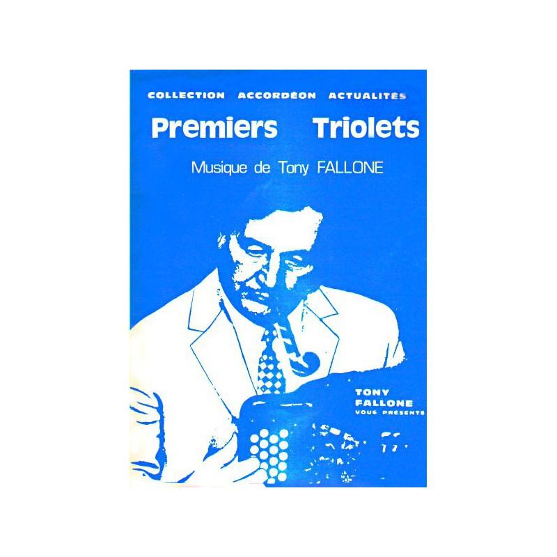 Edition Fallone Premiers Triolets - T.FALLONE - Partition Accordéon