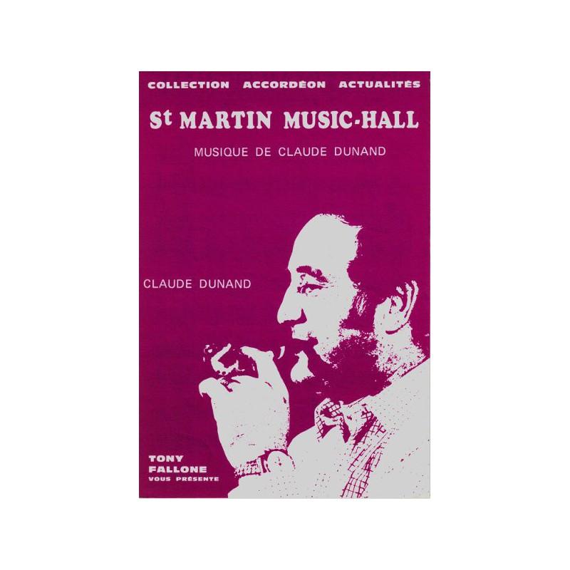 Edition Fallone Saint Martin Music Hall - C.DUNAND - Partition Accordéon