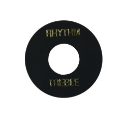 Toggle Switch Washer Black/Gold