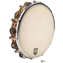 LP CP Tunable Wood Tambourine - CP391