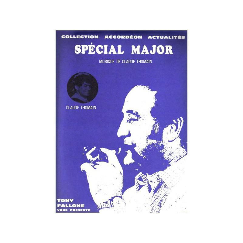 Edition Fallone Spécial Major - C.THOMAIN - Partition Accordéon