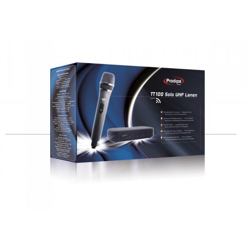 TT100 Solo UHF Lanen - Micro sans fil