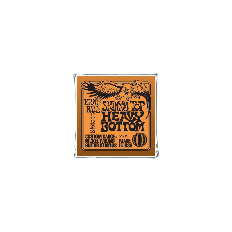 Ernie Ball Light Top Heavy Bottom Slinky® 10-52
