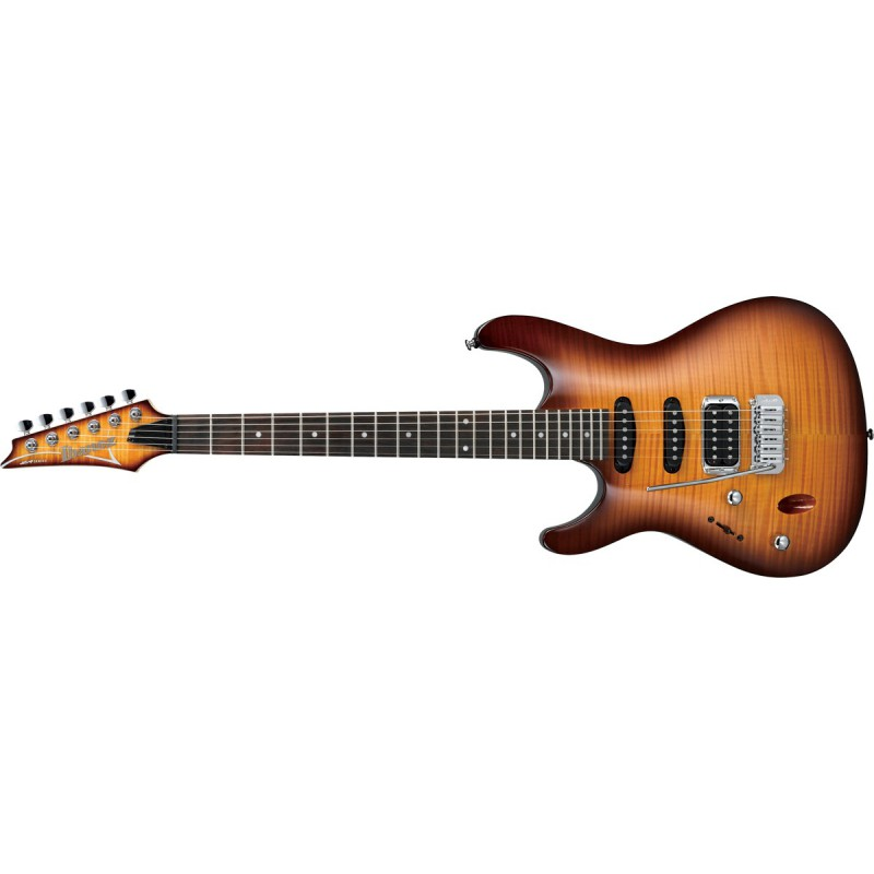 Ibanez SA160FML-BBT Gaucher Brown Sunburst - 2510015095046