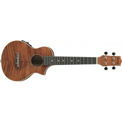 Ibanez Ukulélé UEW15E-OPN - Open Port Natural