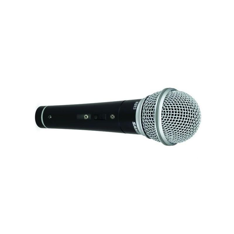 RS21S - Microphone dynamique cardioïde + Pince + Câble XLR-XLR