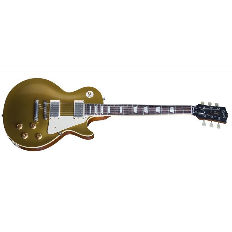 guitares electriques gibson cs7 50 s style les paul standard vos + etui custom shop