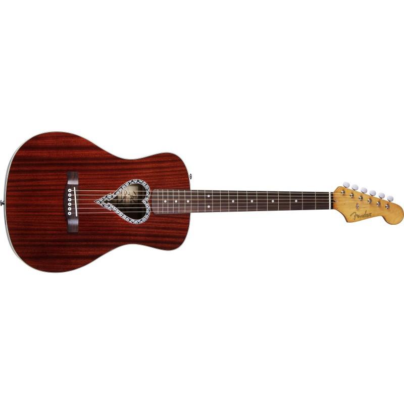 Fender Alkaline Trio Malibu™ Naturel Acajou - 096-8325-021