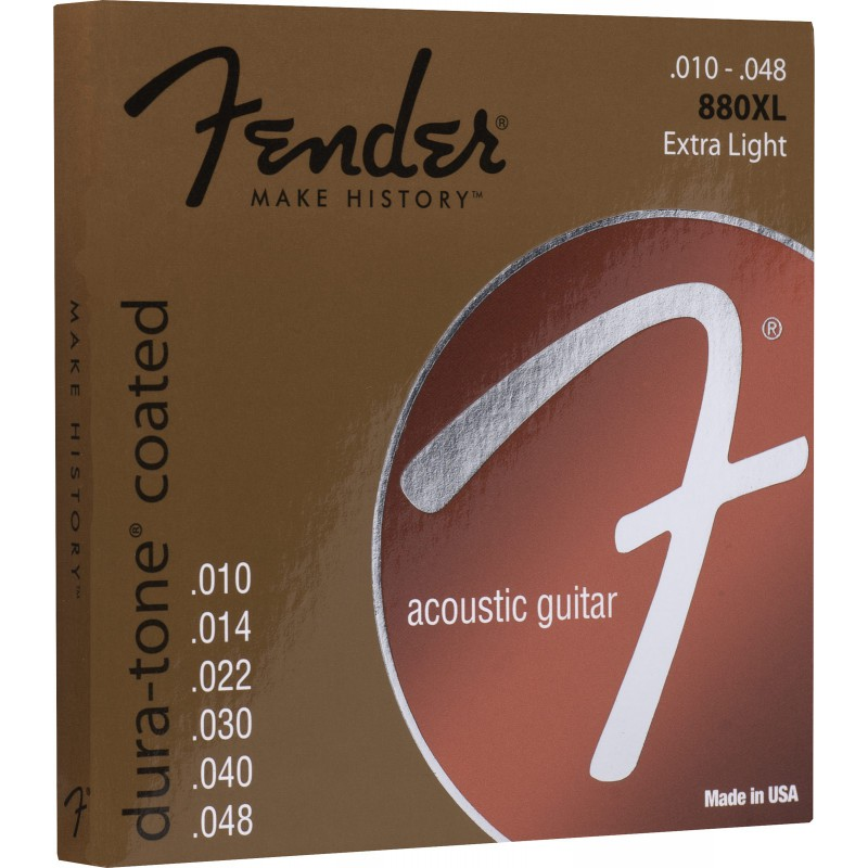 Fender Dura-Tone® Coated 880XL 10-48 - 073-0880-002