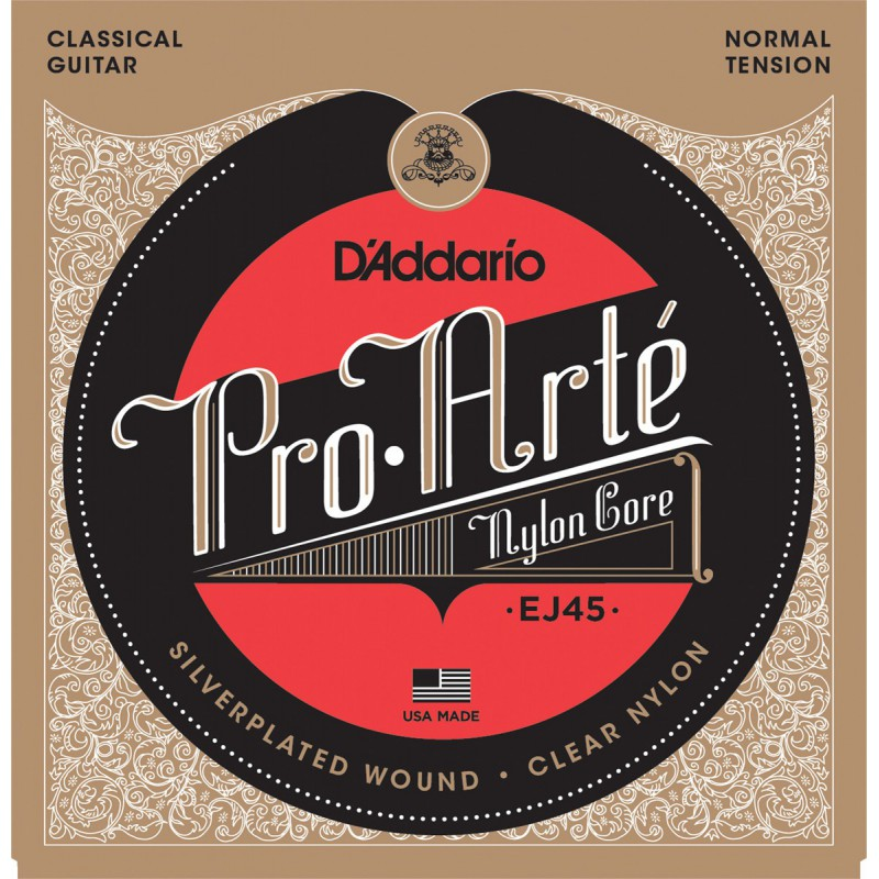 D'Addario Pro Arte EJ45 Normal Tension Corde Guitare Classique