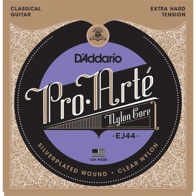 D'addario Pro Arte EJ44 Extra Hard Tension Corde Guitare Classique