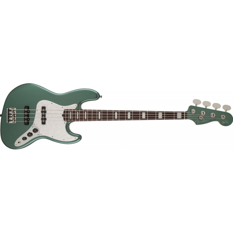 Fender Jazz Bass® Adam Clayton Sherwood Green Metallic Rosewood - 019-0090-846