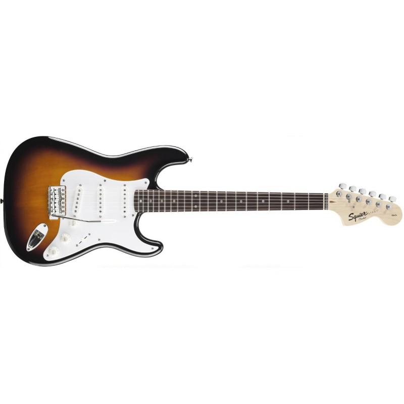Squier Stratocaster Affinity Rosewood Brown Sunburst - 031-0600-532