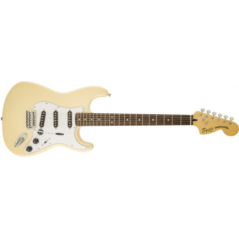 Squier Stratocaster 70s Vintage Modified Vintage White Rosewood - 030-1226-541