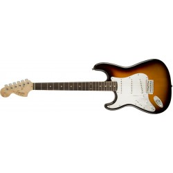 Squier Stratocaster Affinity Series Brown Sunburst Rosewood Gaucher - 031-0620-532