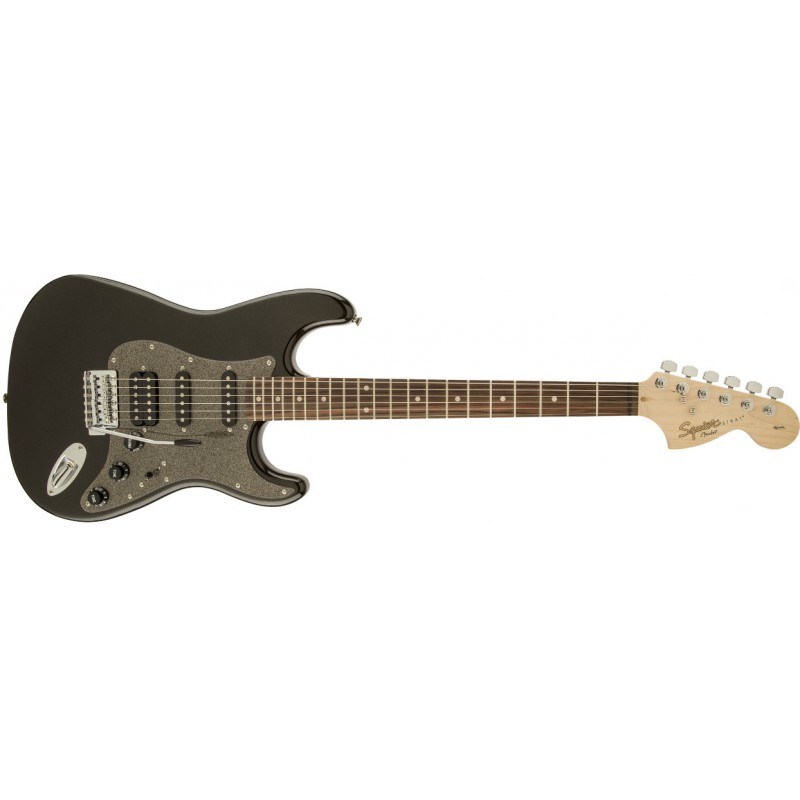 Squier Stratocaster HSS Affinity Series Montego Black Metallic Rosewood - 031-0700-564