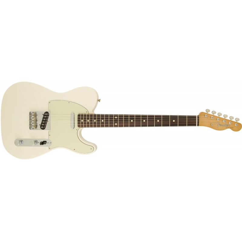 Fender Telecaster Classic 60s Olympic White Rosewood - 013-1600-305