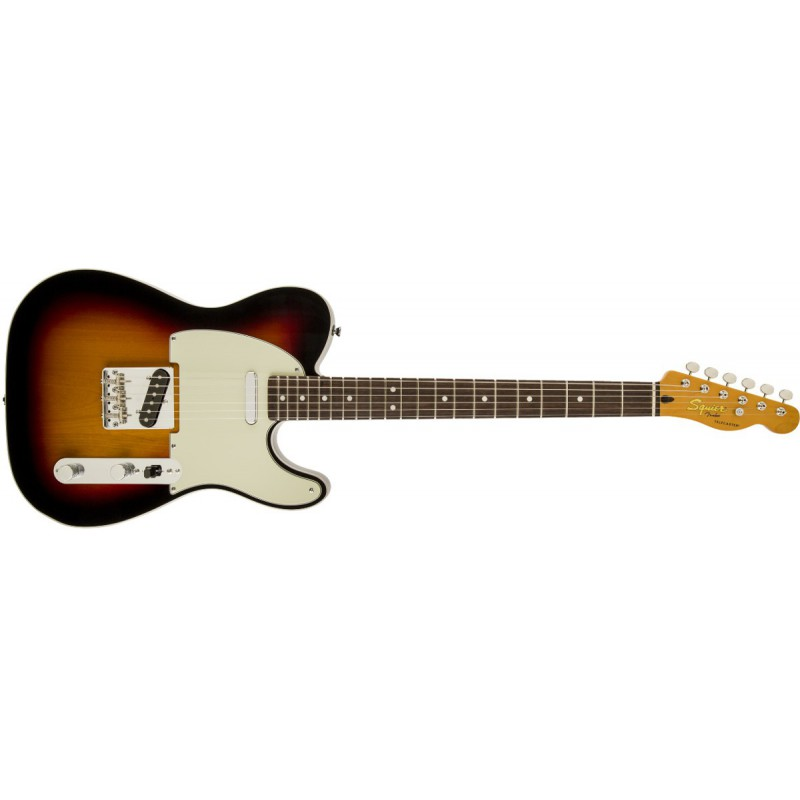 Squier Telecaster Classic Vibe Custom 3-Color Sunburst - 030-3030-500