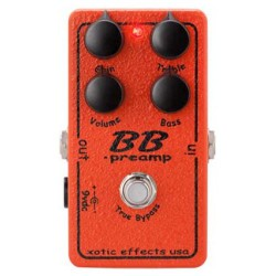 Xotic BB Preamp - Boost Overdrive
