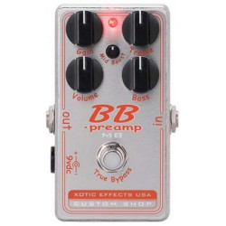 Xotic BB Preamp MB Pédale Préampli Boost Medium