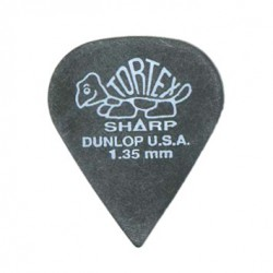 Dunlop Tortex Tor Sharp Très Dur 1.35mm Mediator