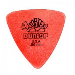 Dunlop Tortex Triangle Souple - 0.5mm Mediator