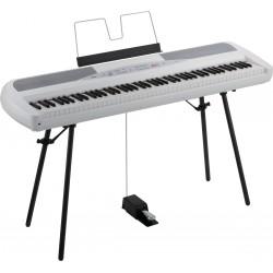 Korg SP-280-WH - Piano Numérique Blanc avec stand