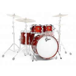 Gretsch USA Standard Maple Kit 4 Fûts Burnt Orange Gloss - GAS-E824-WO
