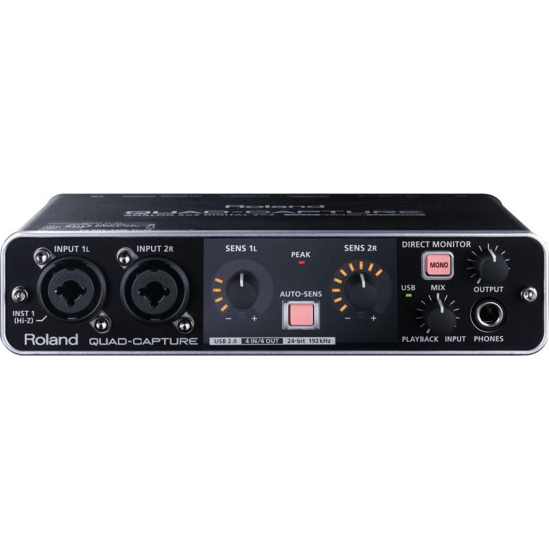 Roland Quad Capture - Interface Audio USB2