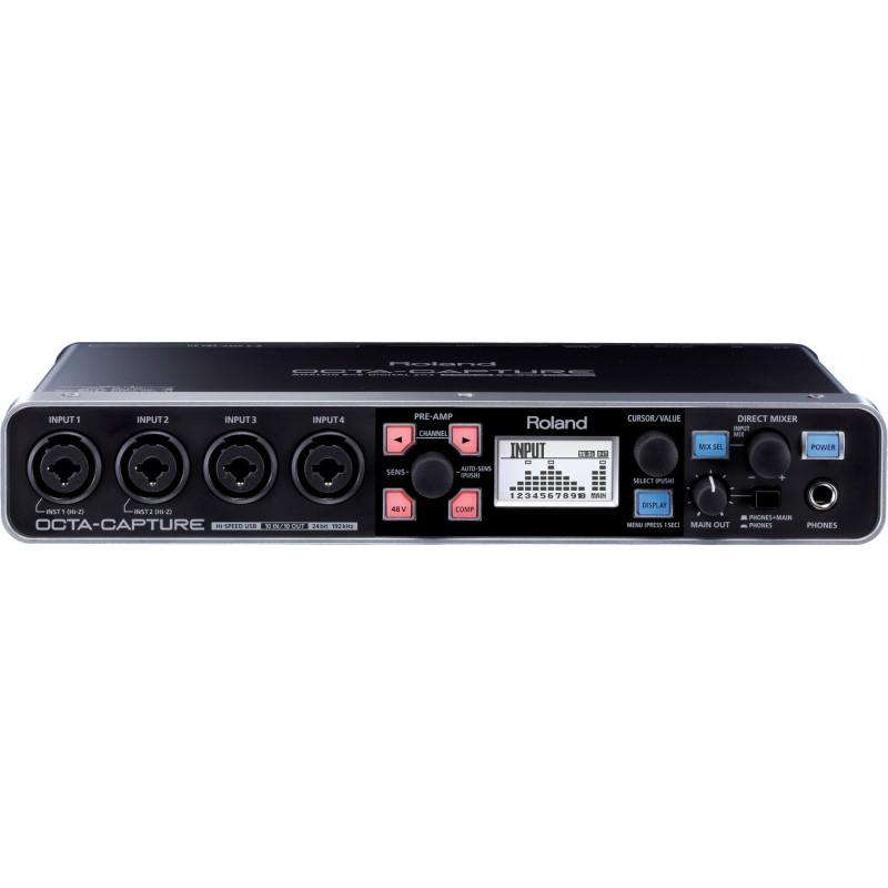Roland Octa Capture - Interface Audio USB2
