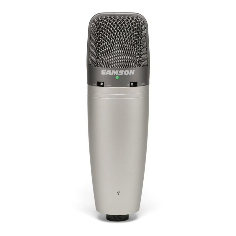 Samson C03U - Microphone USB Directivité sélectionnable