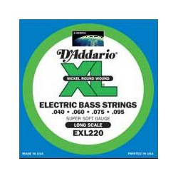D'addario EXL220 Long Scale 40-95