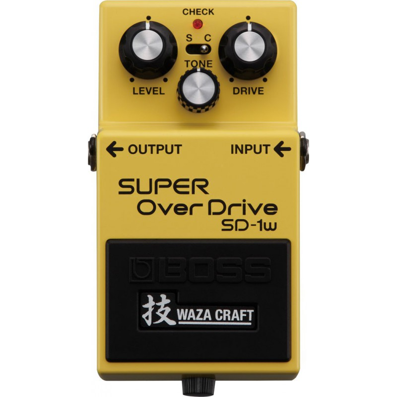 Boss SD-1W Super Overdrive - Pédale Overdrive