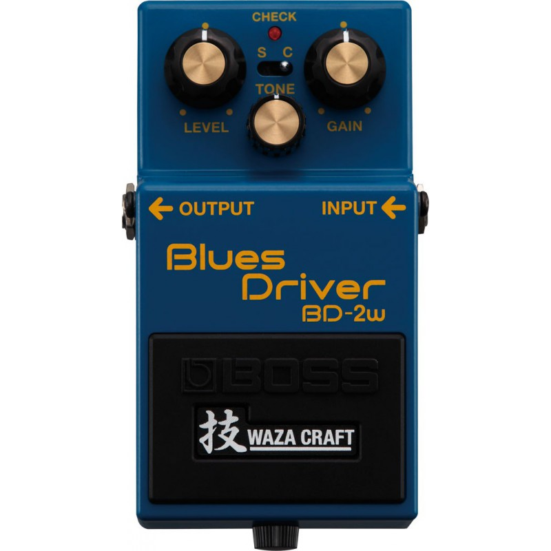 Boss BD-2W Blues Driver Pédale Overdrive