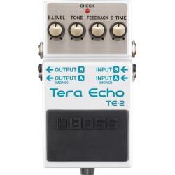 Boss TE-2 Tera Echo - Pédale Echo & Reverbe